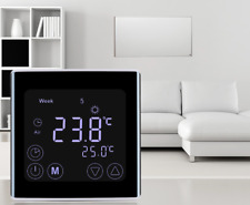 Water Heating Touch Screen LCD Display Room Thermostat for Gas Boiler Temperatur