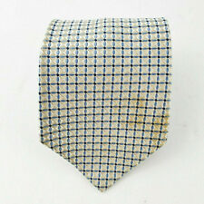 Tommy Hilfiger USA Mens 100% Silk Neck Tie Squares Geometric 57L 3.6W