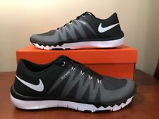 339d05bd6a1e Mens Nike Free Trainer 5.0 V6 Running Shoes Size 15 Black Grey White 719922  010