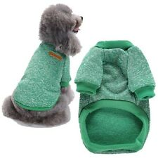 Dog Winter Coat Clothes Puppy Pet Cat Jacket Apparel Sweater Knitted Clothing