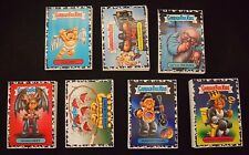 Garbage Pail Kids 2017 Battle of the Bands 180 Complete Bruised Black SET BOTB