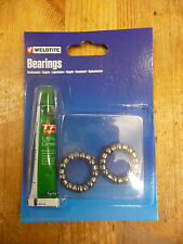 Weldtite bike/cycle caged 1/4 ball bearings & grease to fit bottom bracket new