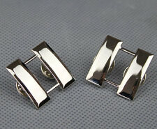PAIR US ARMY OFFICER'S CAPTAIN RANK COLLAR INSIGNIA BADGES PIN-S35