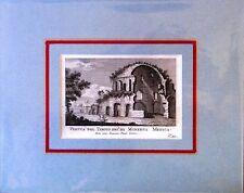 ROMA - Veduta del Tempio detto di Minerva Medica - PRONTI - 1795 - Rif. 163 R 7