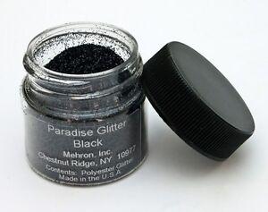 MEHRON PARADISE AQ GLITTER MAKE UP SPARKLERS GLITTER FACE BODY MAKEUP GOLD BLACK