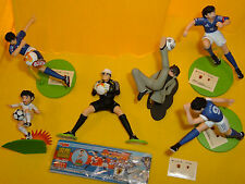 HOLLY & BENJI CAPITAN TSUBASA GASHAPON 6 ANIME FIGURE FULL set COMPLETO YUJIN