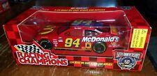 Racing Champions- Nascar Bill Elliott #94 McDonald's Car- Scale 1:24 NEW