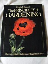 THE PRINCIPLES OF GARDENING by Hugh Johnson - 1980 Edition