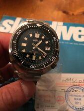 Heimdallr Willard Turtle Diver Watch 44mm 200m 6105 USA Stock FAST Ship Bracelet