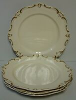 Gorham CHATEAU CHANTILLY PLAIN Accent Dinner Plates SET OF FOUR