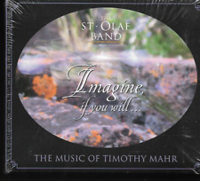 THE ST. OLAF BAND IMAGINE IF YOU WILL...THE MUSIC OF TIMOTHY MAHR NEW/SEALED