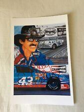 Richard Petty HOF 7x NASCAR/DAYTONA CHAMP HAND SIGNED 4x6 Photo w/COA NICE
