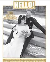 HELLO MEGHAN MARKLE PRINCE HARRY ROYAL WEDDING SOUVENIR SPECIAL COLLECTORS ISSUE