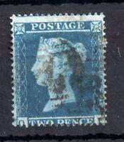 GB QV 1854 2d blue SC SG19 good used WS10304