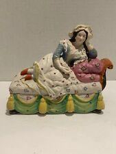 Antique German Porcelain Inkwell