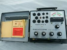 Sencore Tc142 Mighty Mite Tube Checker Tester Fully Tested Nice
