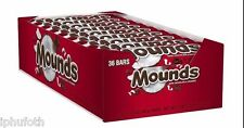 Mounds Chocolate & Coconut Candy Bars - 1.75 oz. - 36 ct.