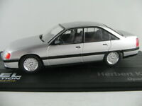"IXO #124 Opel Omega A (1990) ""Herbert Killmer"" in silbermet. 1:43 NEU/PC-Vitrine"