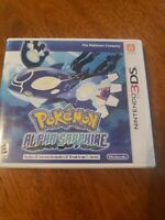 Pokemon: Alpha Sapphire (Nintendo 3DS, 2014) AUTHENTIC, CLEANED, TESTED & WORKS