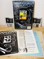 1984 Macintosh 512K ORBITER Space Shuttle Simulator RARE 2 Disks Mac Plus