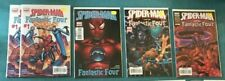 WEBSPINNERS TALES OF 1 - 15 & SPIDERMAN AND THE FANTASTIC FOUR 1 2 3 4 NM