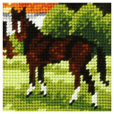 Orchidea Brown Horse Embroidery Kit