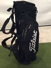 Titleist Players Carry Golf Bag, 4-Way Divided Top, Black, Used, 7 Pockets