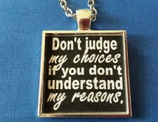 BDSM Jewelry * JUDGEMENT  CHOICES REASONS * Kink Fetishes Lifestyle