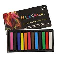 Coloración Cabello Temporal de tiza de pelo 12 colores pasteles suaves Kit De Salón vendedor de Reino Unido