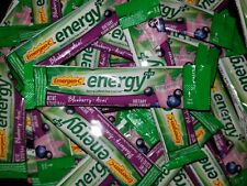 Emergen-C Energy Plus Blueberry Acai Natural Caffeine 50 Packets 10/20 (Bulk)