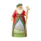Jim Shore Celtic Christmas Greetings - Irish Santa 6004237 2019 NEW Santa