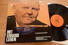 LUDWIG ERHARD Mit Erhard Leben LP Ein linguistisches Dampfbad CBS 70014