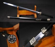 """41.33"""" Chinese Sword Han Jian Alloy Fitting Carbon Steel Hand Forge #140"""