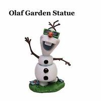 Disney Parks 2015 Epcot Flower & Garden Festival OLAF Statue Figurine Figure NIB