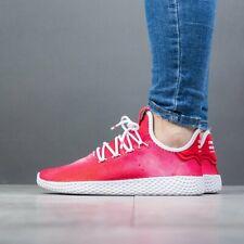 Adidas Tennis Hu UK Size 4 Women's Trainers Red Originals