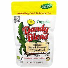 Dandy Blend, Instant Herbal Beverage Dandelion Caffeine Free Organic, 100 g