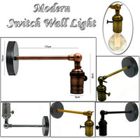 VINTAGE RETRO INDUSTRIAL EDISON LOFT CAFE BAR LAMPHOLDER SCONCE WALL LIGHT LAMP