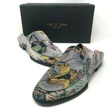 NIB $425 Rag & Bone Alix Convertible Loafer Gray Floral size: US 6 EU 36 NEW