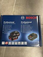 Bosch 2 Batteries GBA 18 V 5.0Ah + GAL 1880 CV