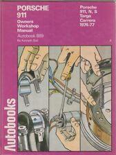 PORSCHE 911 911N 911S CARRERA COUPE / TARGA 1974-77 OWNERS WORKSHOP MANUAL *VGC*