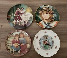 4 Plate Collector's Lot Mixture Of Knowles/ Royal Doulton/ Bradford Exchange