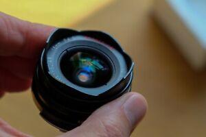 Voigtländer 15mm f4.5 Super Wide Heliar aspherical lens