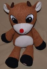 "14""Rudolph Red Nosed Reindeer Plush Dolls Christmas Sings Why Am I Such A Misfit"
