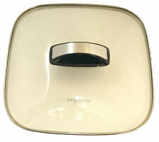 """Presto Glass Cover Assembly for DiamondCoat Ceramic 12"""" Electric Skillet, 85983"""