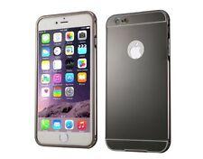 Étuis, housses et coques noirs iPhone 6 en métal pour téléphone mobile et assistant personnel (PDA)