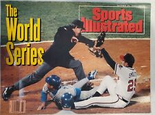 Sports Illustrated October 26, 1992 - Atlanta Braves & Toronto Blue Jays Cover