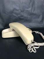 VTG Phone Push Button Wall Mount off white touch tone home office shop decor