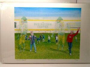 SOME DAY...., SIGNED BY David A Higwell; 376/500, Green Bay Packer