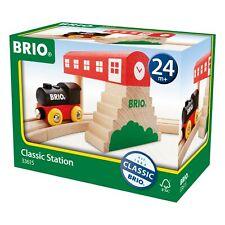 BRIO Classic Bahnhof Holzeisenbahn Eisenbahn Holzspielzeug Holz Spielzeug 33615