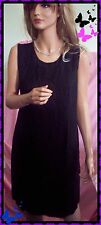 Vintage RARE M L 12P Betsy's Things Career Little Black Dress Shift Sheath USA